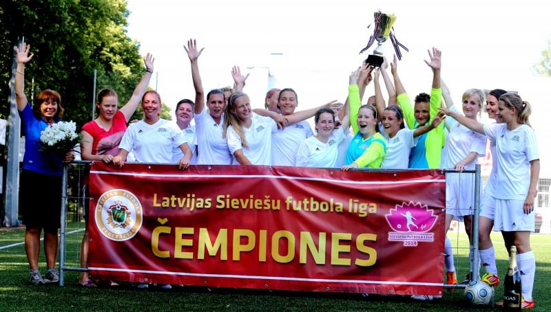Rīgas Futbola skola sieviešu ČL sāk ar 0:11