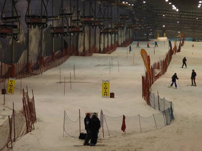 Latvijas kalnu slēpotāji dominē Baltijas kausa 1.posmā Lietuvā
