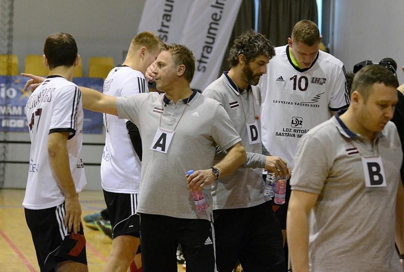 8 dienas līdz...: Latvijas handbolisti uzsāk gatavošanos