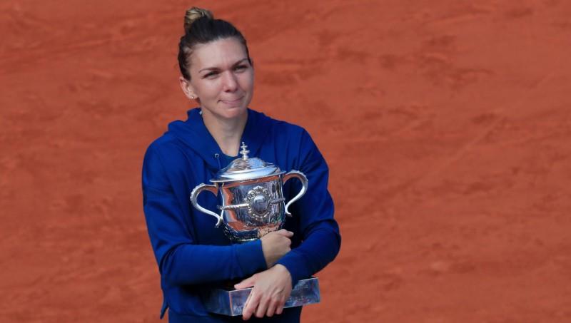 Halepa atzīta par šī gada labāko tenisisti