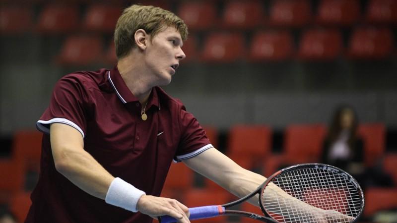 Tenisists Lībietis aizvadījis pirmo spēli divu gadu laikā, bet priekšā vēl ilgs ceļš