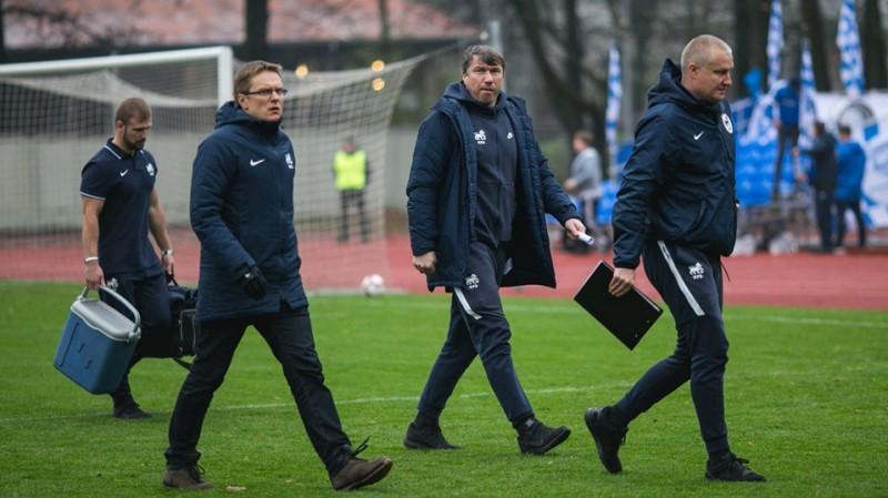 Kausu izcīnījušais lietuvietis Dambrausks paliks RFS galvenā trenera amatā