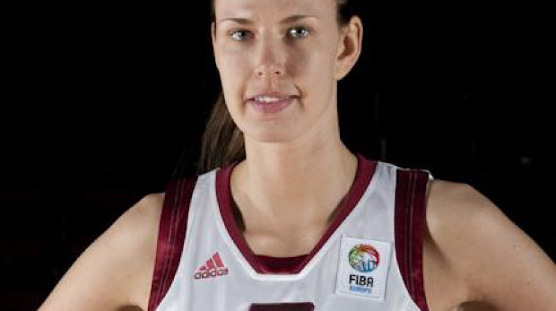 Zane Tamane Foto: EuroBasket Women 2009