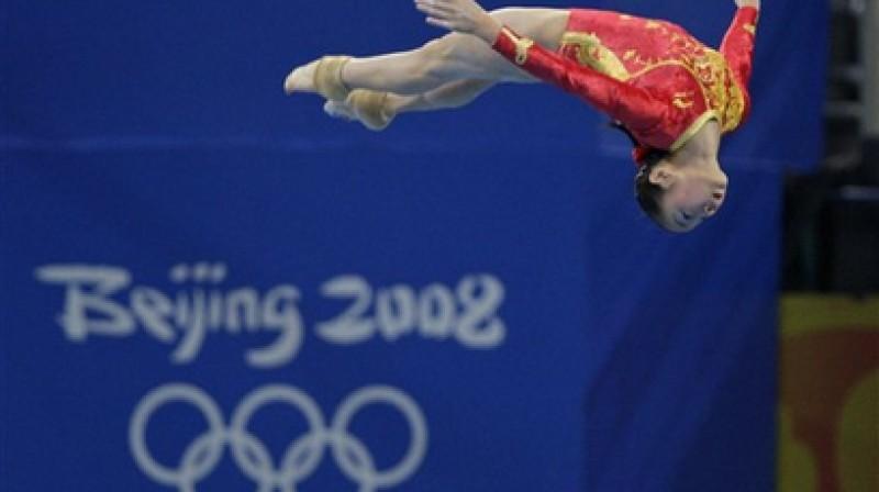 Ķīna - piecgades līdere pasaules sportā Foto: AP / Scanpix