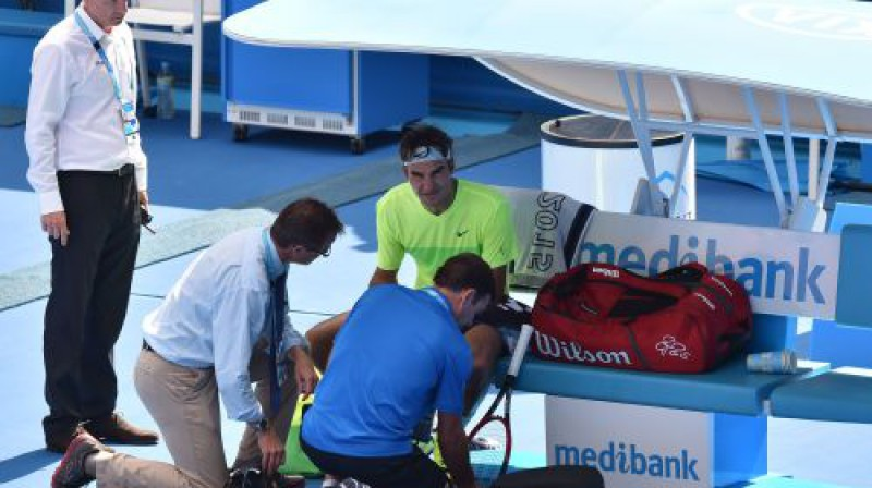 Rodžers Federers  Foto: AFP/Scanpix