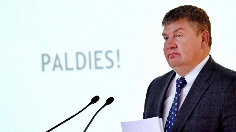 Latvijas Hokeja federācijas prezidents Aigars Kalvītis. Foto: Kaspars Krafts, F64