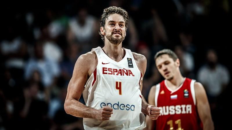 Pau Gazols atgriežas izlasē. Foto: FIBA