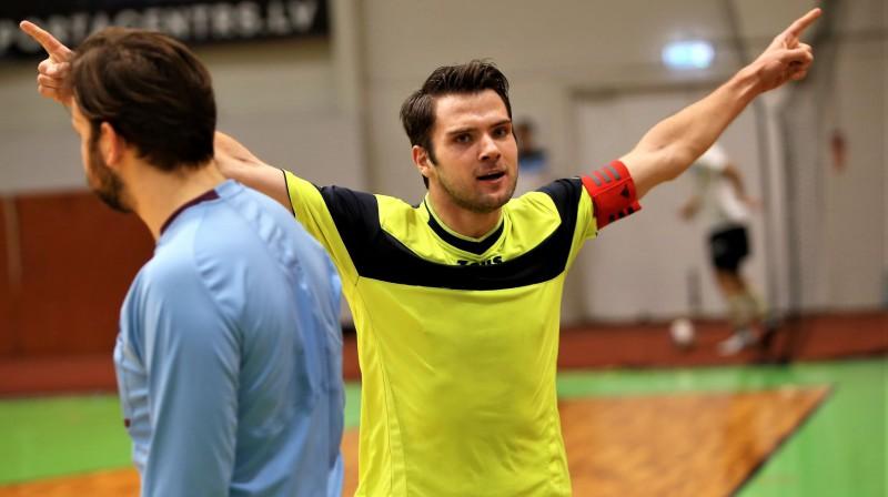 Uzvaras vārtus guvis Svajunas Fokas (FK Partizāns). Foto: Ritvars Raits