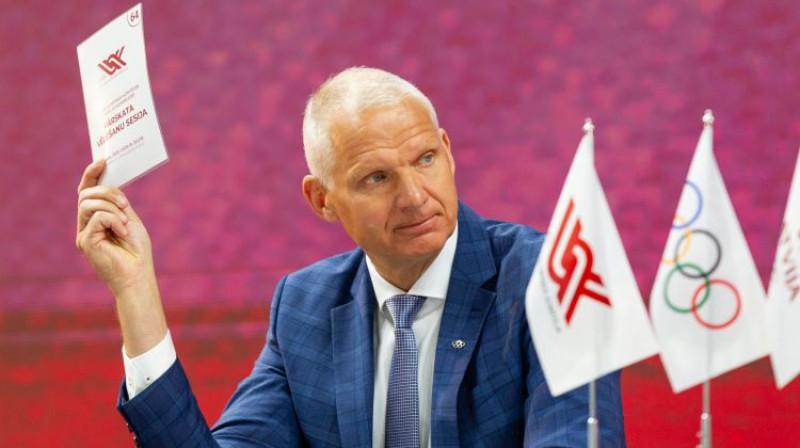 Žoržs Tikmers. Foto: Vadims Morozovs/LOK