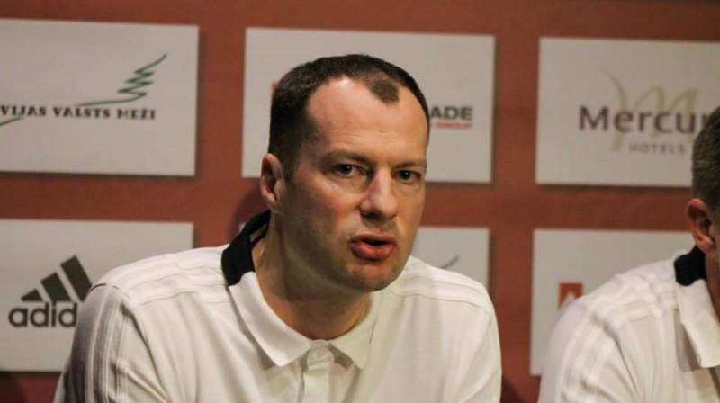 Renārs Līcis. Foto: Latvijas Handbola federācija