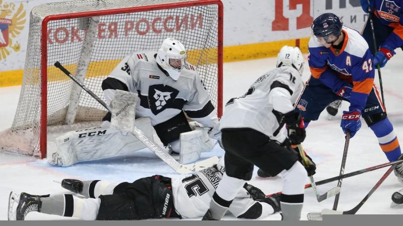 "Sanktpēterburgas ""SKA-Varyagi"" pret HK ""Rīga"". Foto: SKA-Varyagi"