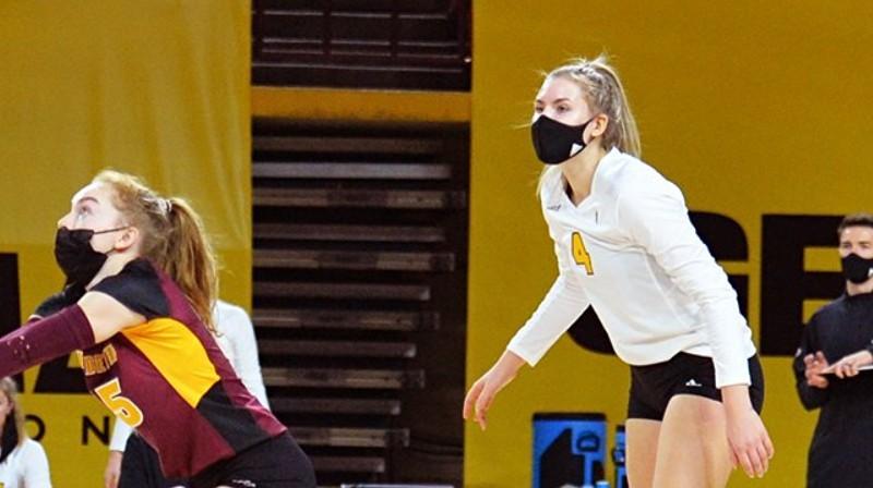 Marta Levinska (#4). Foto: Arizona State Volleyball