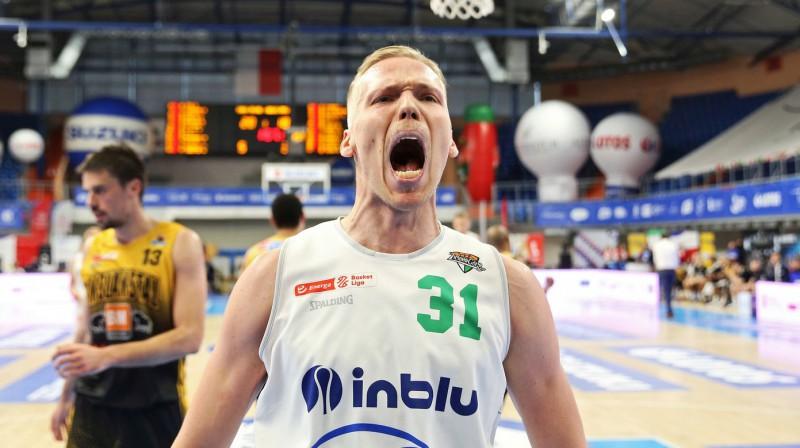 Jānis Bērziņš. Foto: Energa Basket Liga