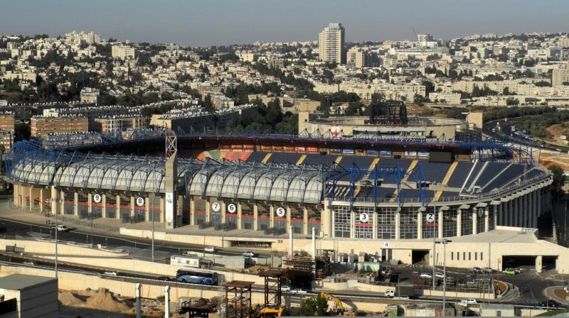 ''Teddy Stadium'' Jeruzalemē. Foto: Lyulyev Danny