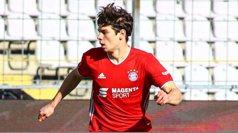 Daniels Ontužāns. Foto: FC Bayern Campus