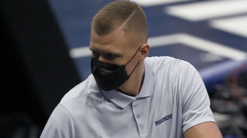 Kristaps Porziņģis. Foto: AFP/Scanpix