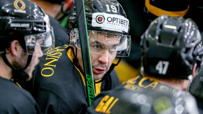 Miķelis Rēdlihs. Foto: Agris Bricis, Optibet hokeja līga