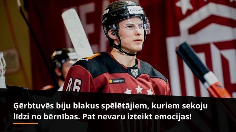 Daņila Larionovs. Foto: Kaspars Volonts, Dinamo Rīga