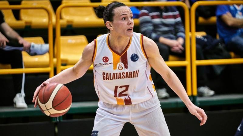 Anete Šteinberga 2021. gada 17. martā Salamankā. Foto: FIBA