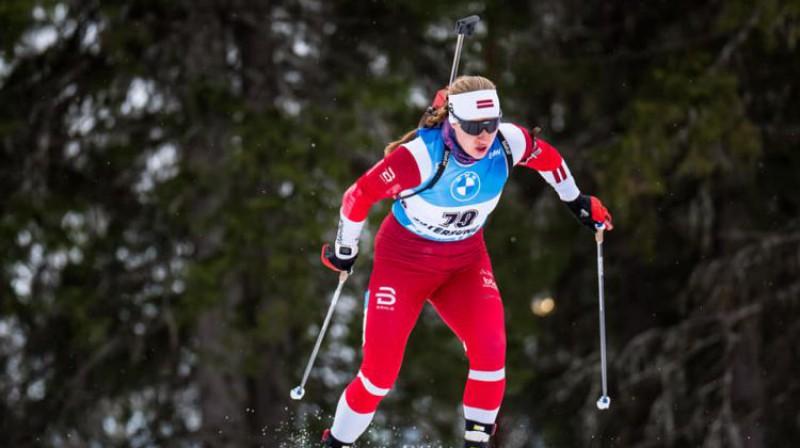 Sanita Buliņa. Foto: Latvijas Biatlona federācija