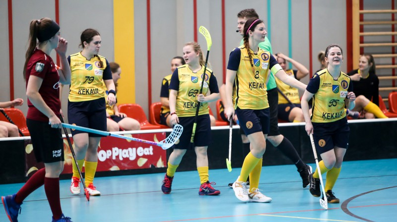 """FK """"Ķekava"""". Foto: Ritvars Raits, floorball.lv"""