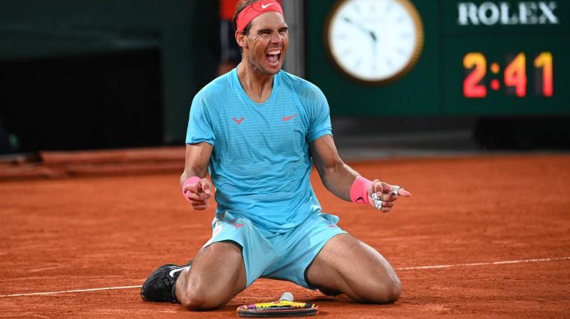 """13-kārtējais """"French Open"""" čempions Rafaels Nadals. Foto: AFP/Scanpix"""