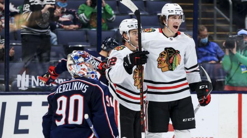 Elvis Merzļikins. Foto: USA TODAY Sports/Scanpix