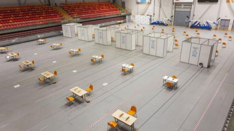 Zemgales Olimpiskais centrs. Foto: badminton.lv