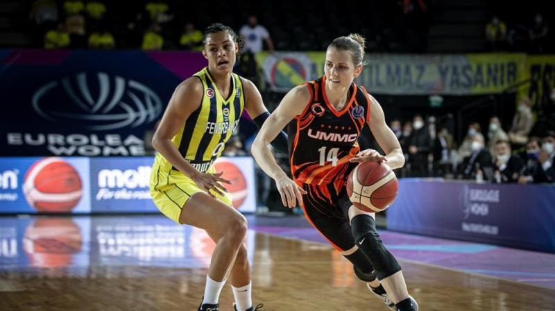 Alija Kviglija 21 no 27 punktiem sameta pirmajā puslaikā. Foto: FIBA