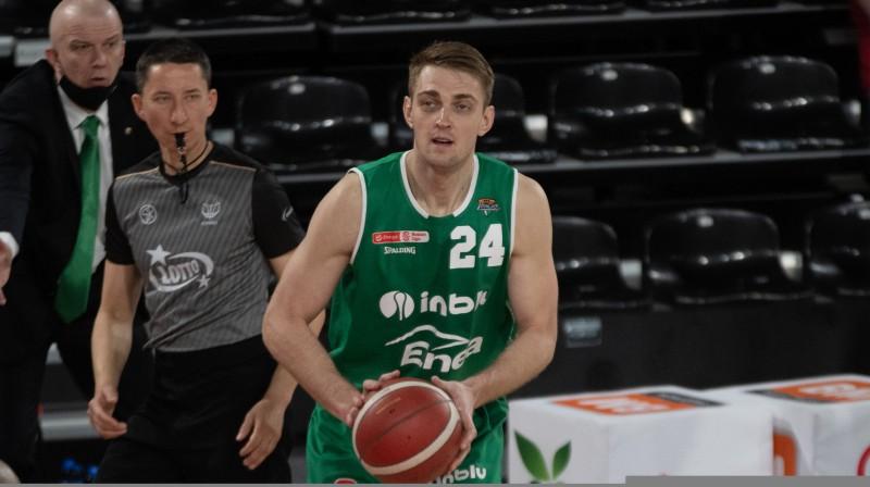 Rolands Freimanis. Foto: Zielona Gora Basket