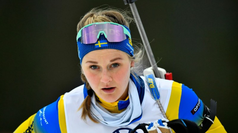Stīna Nilsone mērķēs uz Olimpisko medaļu arī biatlonā. Nisse Schmidt/tt / NTB