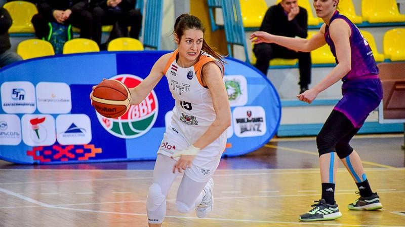 Ieva Pulvere un TTT: 16-0 regulārajā sezonā. Foto: EWBL