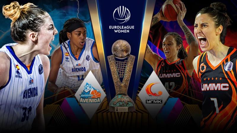 Keitija Lū Semjuelsone un Alba Torensa. Kolāža: FIBA