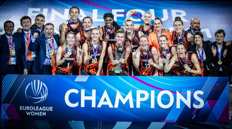 UGMK basketbolistes 2021. gada 18. aprīlī. Foto: FIBA