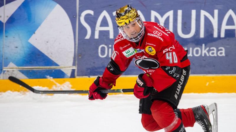Sebastjans Venstrems. Foto: Elmeri Elo/All Over Press