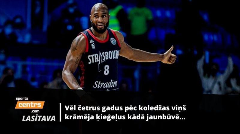 Deandrē Lensdauns. Foto: FIBA