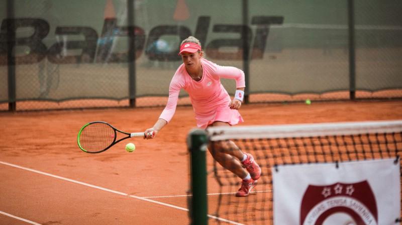 Daniela Vismane. Foto: Liepājas Tenisa sporta skola
