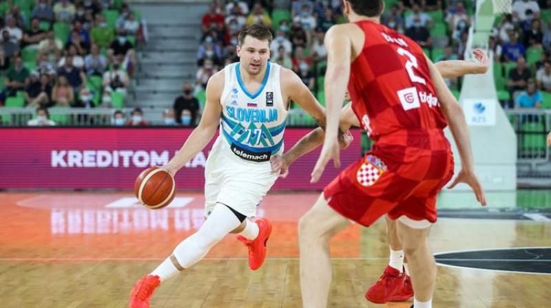Luka Dončičs. Foto: Vid Ponikvar