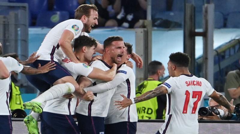 Anglijas izlase nākamo spēli aizvadīs pie tukšām tribīnēm. Foto: Reuters/Scanpix