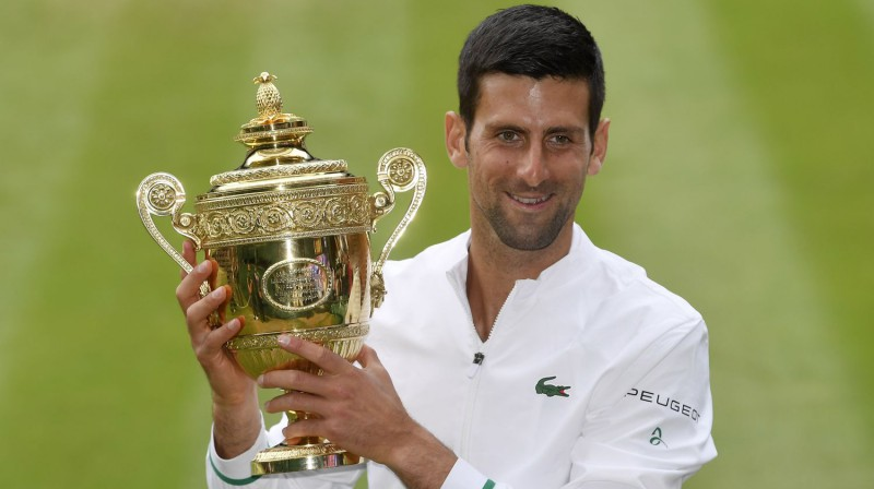 Novaks Džokovičs. Foto: Reuters/Scanpix