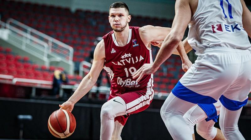 Rihards Lomažs. Foto: FIBA