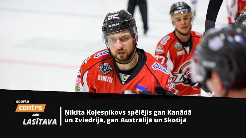 Ņikita Koļesņikovs. Foto: hcdonbass.com