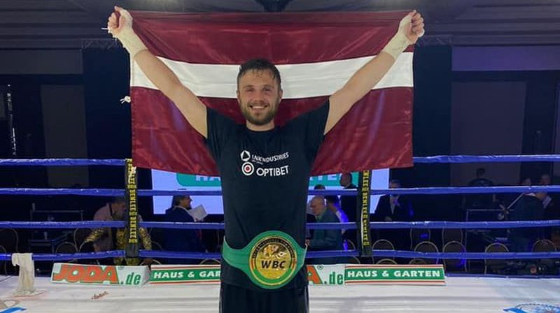 Ralfs Vilcāns. Foto: LNK Boxing
