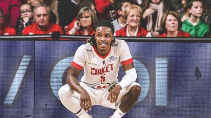 Džeilens Railijs. FotoL Cholet Basket