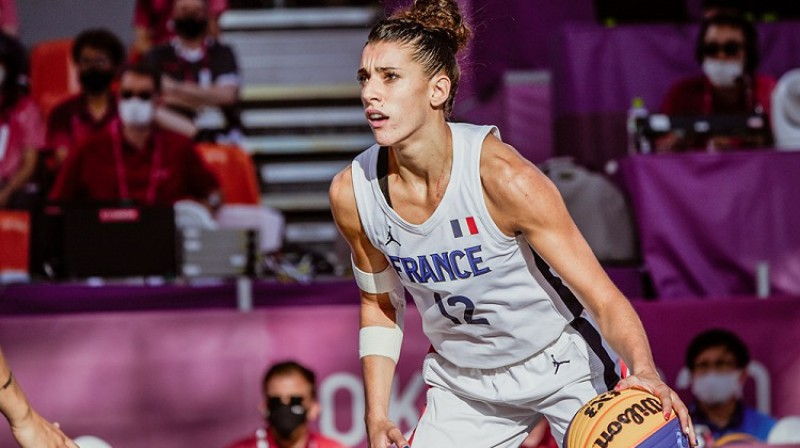 Letīcija Guapo. Foto: FIBA
