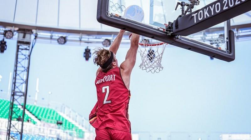 Tibo Vervo. Foto: FIBA