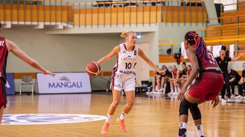 Elizabete Bulāne. Foto: FIBA