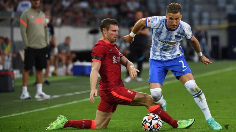 "Berlīnes ""Hertha"" pret ""Liverpool"". Foto: imago images/Matthias Koch/Scanpix"