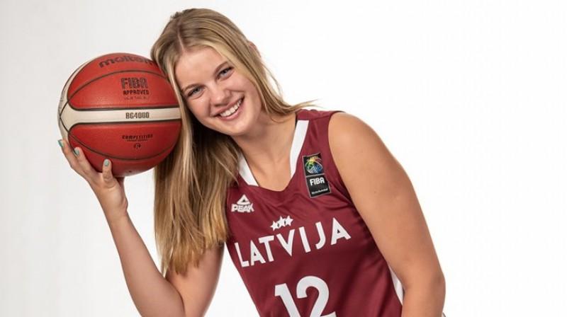 Līva Krūmiņa. Foto: FIBA