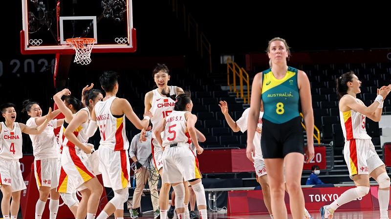 Sāra Blicavs debijas spēlē piedzīvoja dramatisku zaudējumu pret Ķīnu. Foto: Reuters/Scanpix